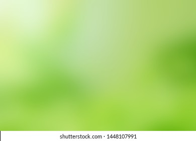 Green blurred background for design and decoration.