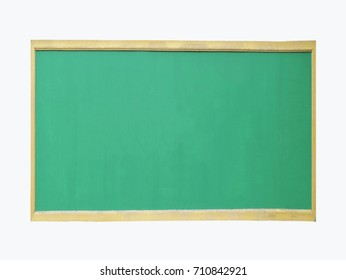 green board  school background, isolated