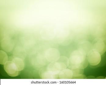 Green Bokeh backgrounds