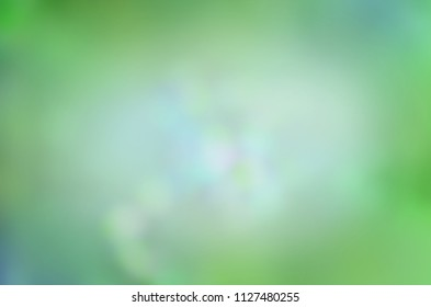 Green bokeh nature defocus blur background. Defocused abstract background. Eco nature green defocused background. Copy space for your text