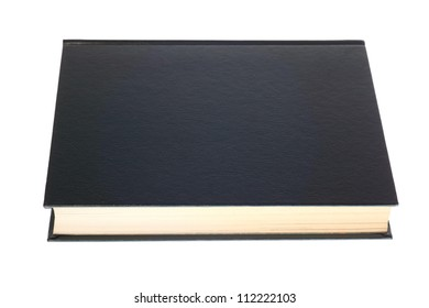 green book isolated on white background