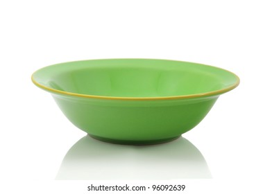 Green Bowl with path