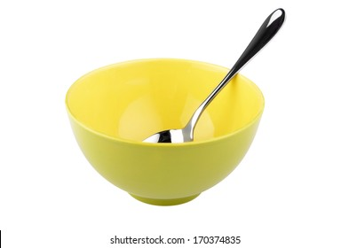 Empty Bowl and Spoon Images, Stock Photos & Vectors | Shutterstock