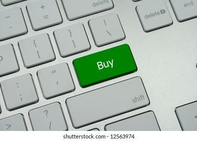 """A green """"Buy"""" button"""