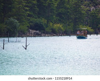 GREEN CANYON, TURKEY - AUGUST 8, 2018: 