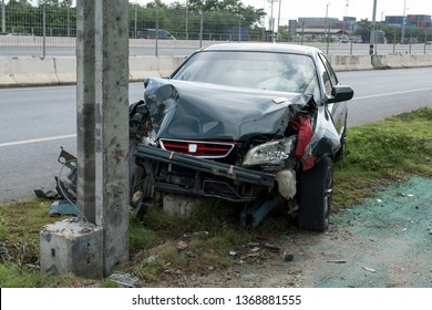 Car Crash Pole Images, Stock Photos & Vectors | Shutterstock