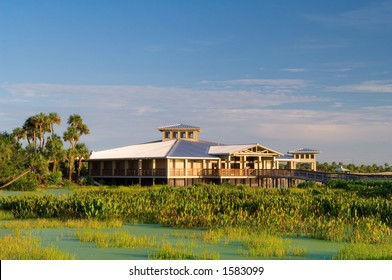 green cay wetland and visitor center in palm beach county florida