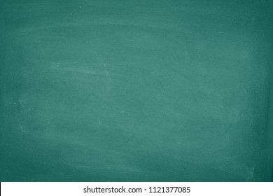 Green Chalkboard. Chalk texture traces erased school board display with copy space for add text or graphic design. Education concepts