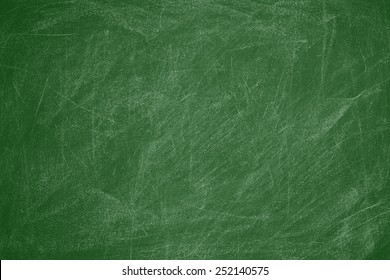 Green chalkboard.Texture background.