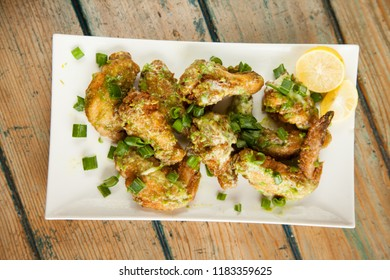 Green Chilli Chicken Wings