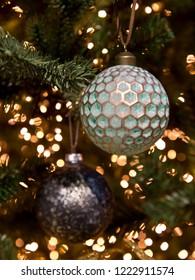 Green christmas ball