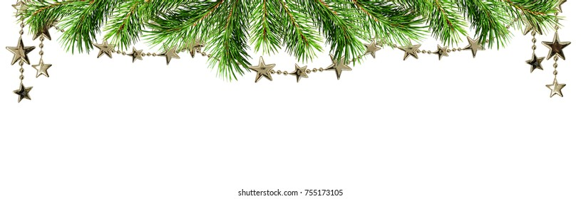 Garland Border Images Stock Photos Vectors Shutterstock