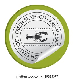 Green Circle Fresh Seafood Product Label