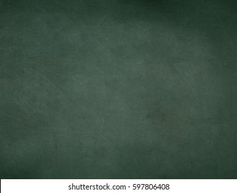Green Classroom Blackboard Background Chalk Erased School Chalkboard Vintage Monochrome Texture Vignette