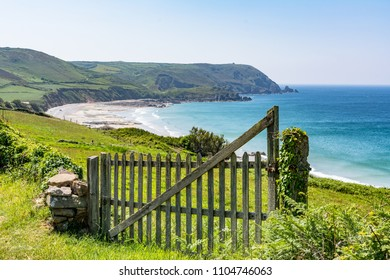 Grüne Küste in Normandie