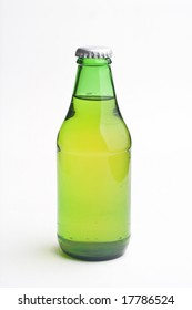 green Cold beer