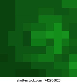 Green color block geometric abstract background