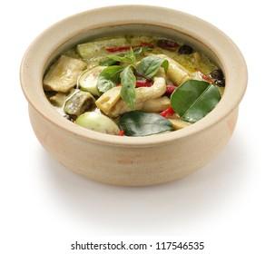 green curry, thai cuisine