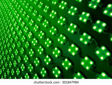 Green Diodes outdoor matrix board