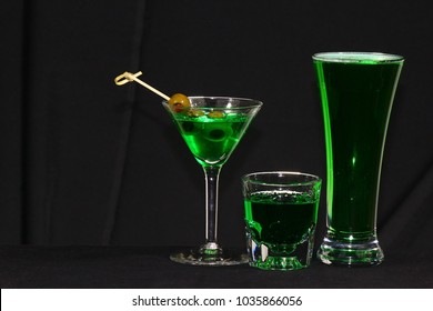 Green Drinks For St. Patrick's Day
