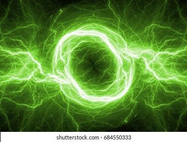 Green energy, plasma electrical power background