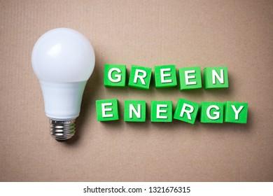 Green energy saving and LED light bulb