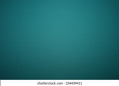 Green fabric with a pattern