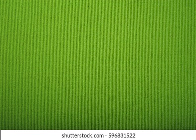 Green fabric texture background. Top view