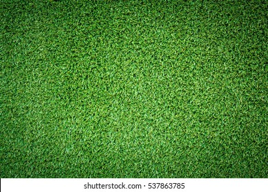 Green Fake grass turf surface texture background