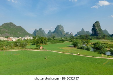 Green farm photography picture,Beautiful natural scenery - Shutterstock ID 1845032737