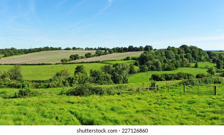 Green Farmland Fields