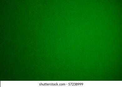 Green felt background