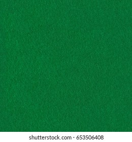 Green felt fabric for background. Seamless square texture, tile ready. High resolution photo.