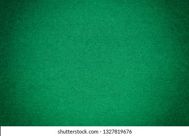 Green felt texture for poker and casino background