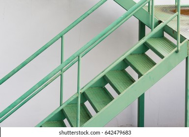 Metal Stairs Images Stock Photos Amp Vectors Shutterstock