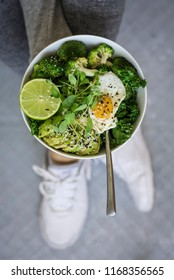 Green Fitness Breakfast Bowl