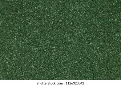 Green foamed rubber, close up as background