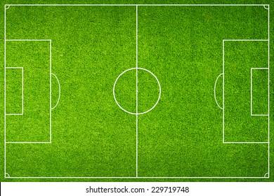 Green Football Stadium field