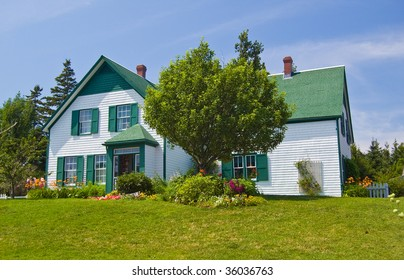 Green Gables Heritage Farm, shot a bright Sunny Day in Cavendish