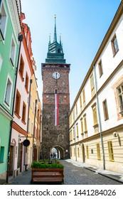 Green Gate in Pardubice, Czechia - Shutterstock ID 1441284026