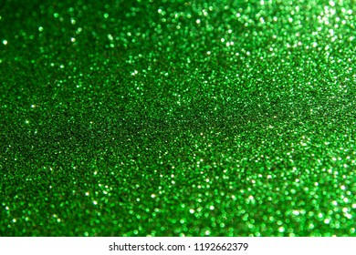 Green glamour background
