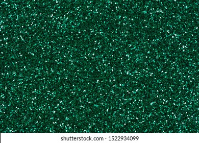 Green glitter background, texture for your creative design work.