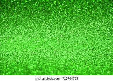 green glitter texture abstract background,   Defocused
