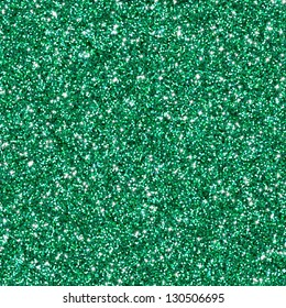Green glitter texture or background