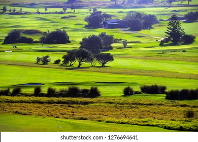 Green Golf Fields NSW Australia