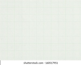 Green Graph line, paper background