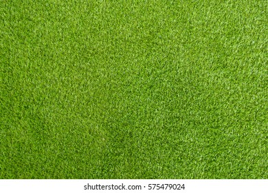 green grass artificial background