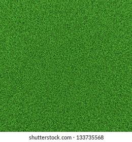 Green grass background texture, high resolution 3d render.