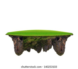 green grass field on lime stone mountain use for multipurpose amazing background and backdrop