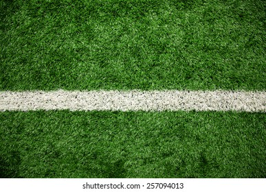 Green grass field, soccer field